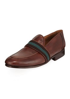 Donald J Pliner Men's Alvino Web Leather Loafer