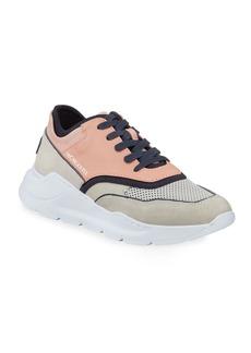 Donald J Pliner Men's Blowtech Leather Trainer Sneakers