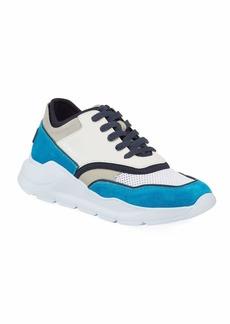 Donald J Pliner Men's Blowtech Suede Trainer Sneakers