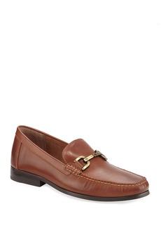 Donald J Pliner Men's Leather Bit Loafers