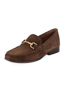 Donald J Pliner Men's Niles Suede Horsebit Drivers