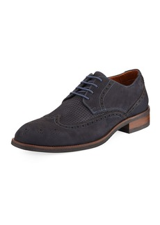 Donald J Pliner Men's Parson Suede Oxford Shoes