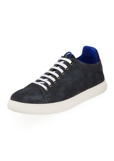 Donald J Pliner Men's Pierce Suede Platform Sneakers