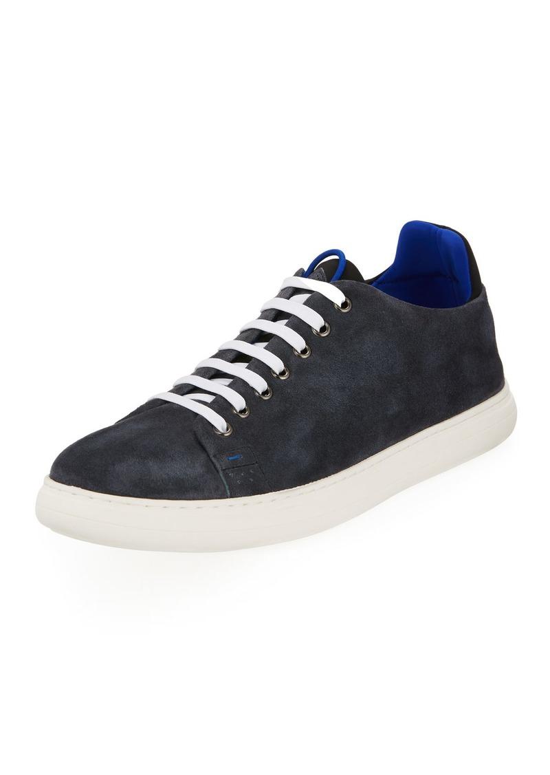 Donald J Pliner Men's Pierce Suede Platform Sneakers