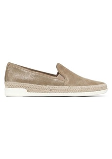 Donald J Pliner Textured Leather Slip-On Sneakers