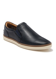 Donald J Pliner Travis Perforated Slip-On Leather Sneaker