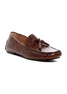 Donald J Pliner Vincent Croc Embossed Leather Loafer