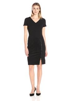 Donna Ricco Women's 1 Pc Short Sleeve Missy Dress