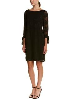 Donna Ricco Women's Long Sleeve Sheath Dress