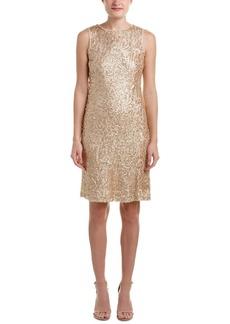 Donna Ricco Women's Sleeveless Sheath Dress with Sequins