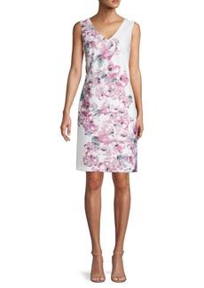 Donna Ricco Floral Sheath Dress