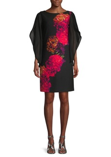 Donna Ricco Floral Shift Dress