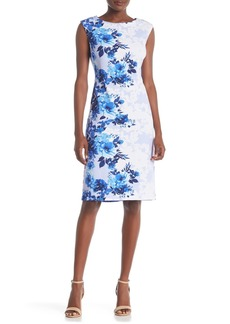 Donna Ricco Sleeveless Floral Dress