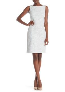 Donna Ricco Textured Sleeveless Dress