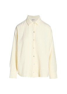 DONNI Bubble Seersucker Shirt