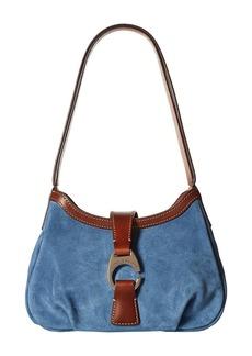 Dooney & Bourke Derby Suede Shoulder Bag