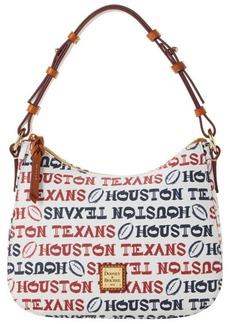 Dooney & Bourke Houston Texans Doodle Small Kiley Hobo