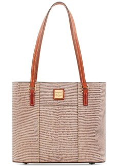 Dooney & Bourke Lizard-Embossed Leather Small Lexington Tote, Created for Macy's