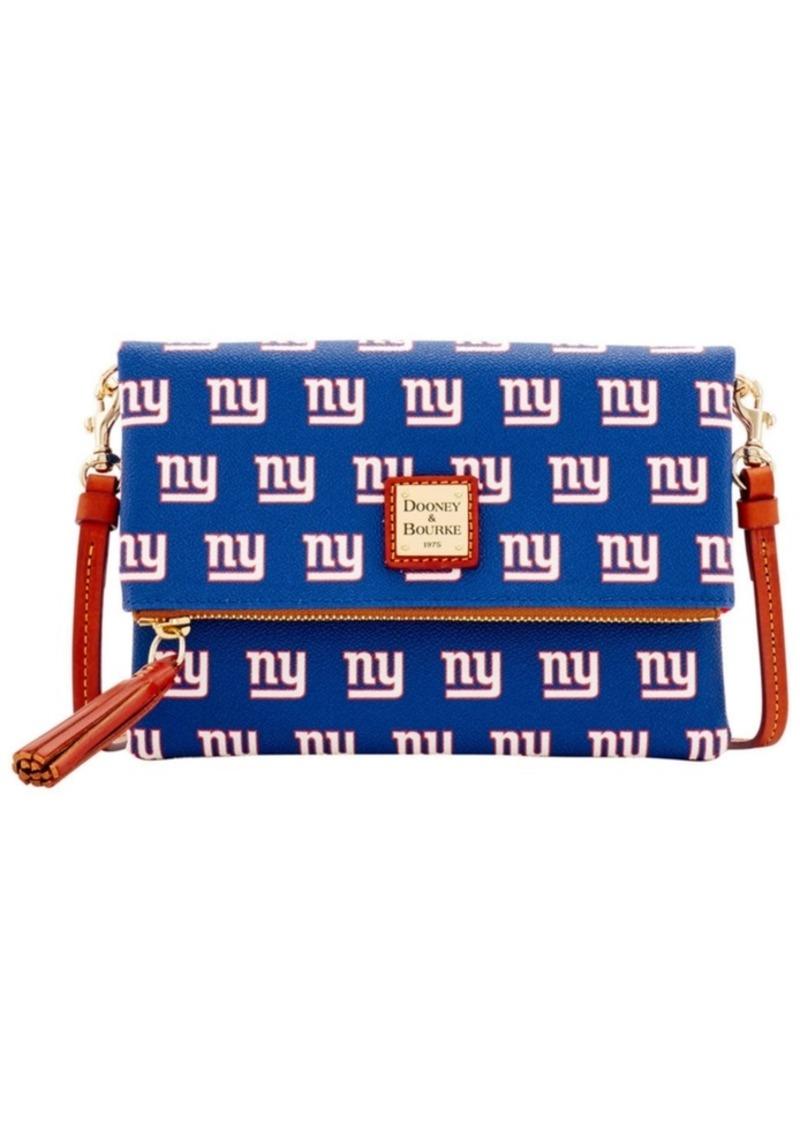Dooney & Bourke New York Giants Foldover Crossbody Purse