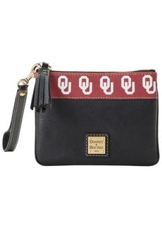 Dooney & Bourke Oklahoma Sooners Saffiano Stadium Zip Wristlet