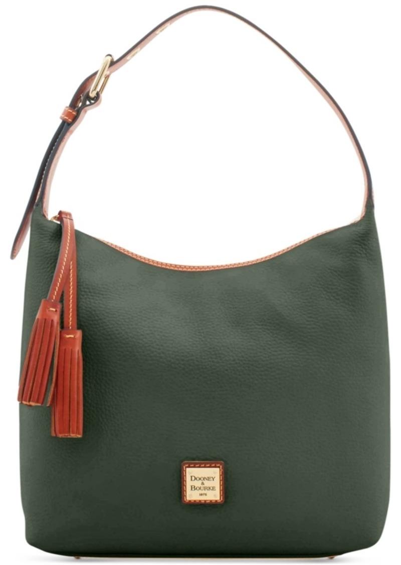 Dooney & Bourke Patterson Leather Paige Pebble Leather Shoulder Bag