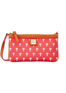 Dooney & Bourke Phillies Large Slim Wristlet