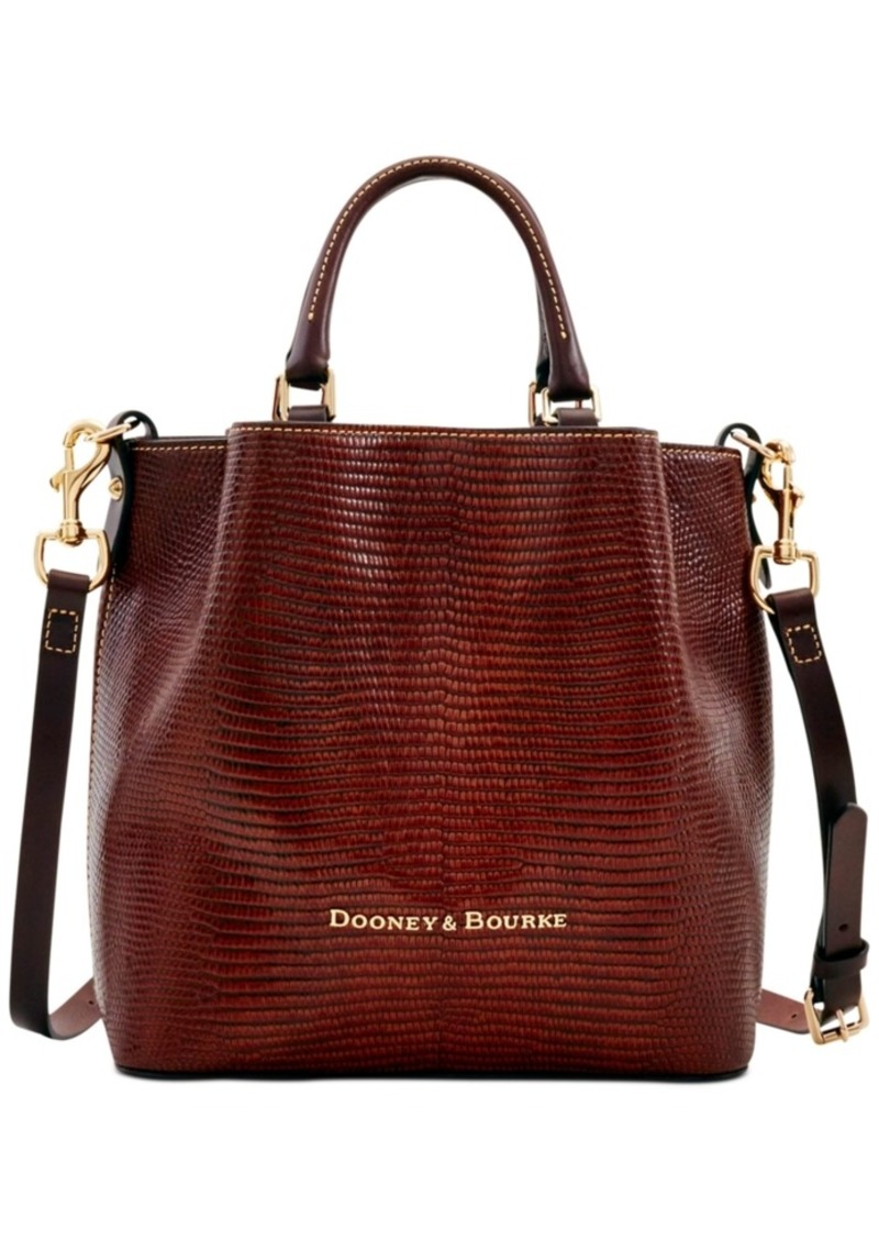 Dooney & Bourke Small Barlow Embossed Leather Tote