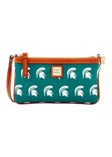 Dooney & Bourke Sports Michigan State Wristlet