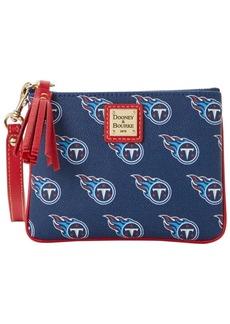 Dooney & Bourke Tennessee Titans Saffiano Stadium Wristlet