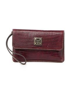 Dooney & Bourke Milly Embossed Leather Wristlet