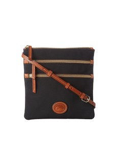 Dooney & Bourke Nylon North/South Triple Zip