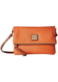 Dooney & Bourke Pebble Foldover Zip Crossbody