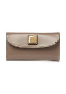 Dooney & Bourke Selleria Leather Continental Clutch