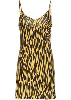 Double Rainbouu tiger print slip dress