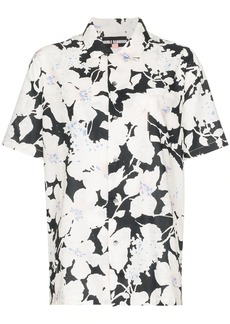Double Rainbouu floral print short-sleeve shirt