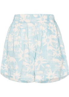 Double Rainbouu Gogo floral print shorts