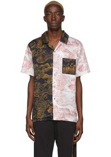 Double Rainbouu Black & White Uuave Shirt