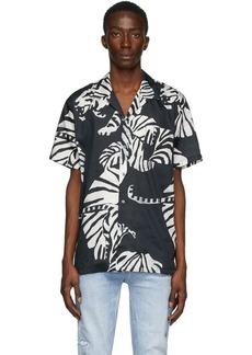Double Rainbouu Black Nightcrawler Hawaiian Shirt