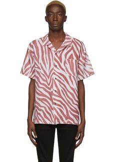 Double Rainbouu Red & White Shark Shirt