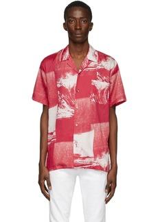 Double Rainbouu Red Uuaves Hawaiian Shirt