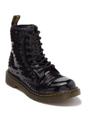 Dr. Martens 1460 Pooch Sequin Boot (Big Kid)
