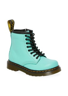 Dr. Martens Baby's & Little Kid's Romario Lace-Up Leather Combat Boots
