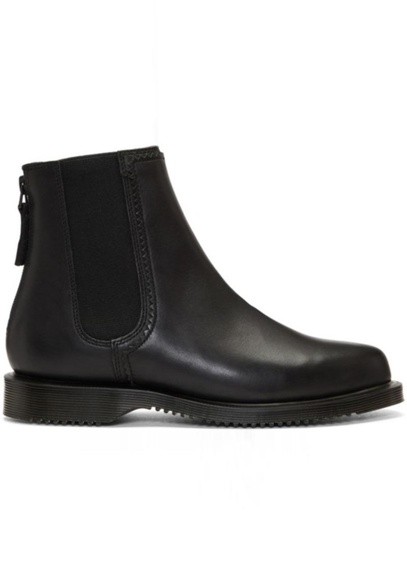 Dr. Martens Black Zillow Zip Chelsea Boots | Shoes