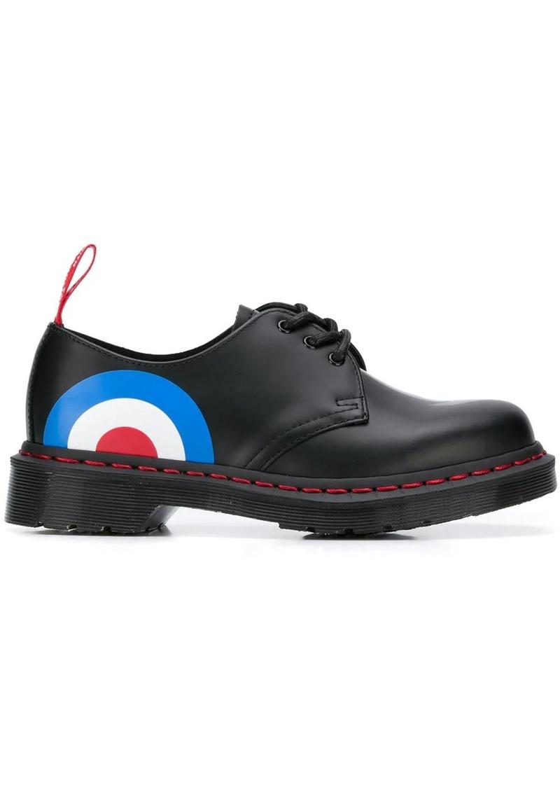 Dr. Martens bullseye print Oxford shoes