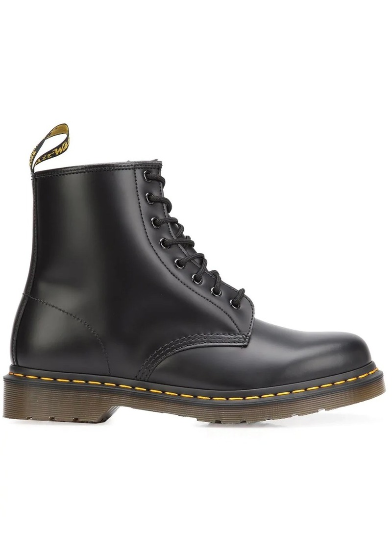 Dr. Martens chunky heel lace-up boots