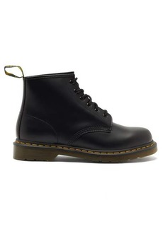 Dr. Martens 101 lace-up leather ankle boots
