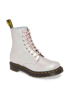 Dr. Martens 1460 Croc Embossed Boot (Women)