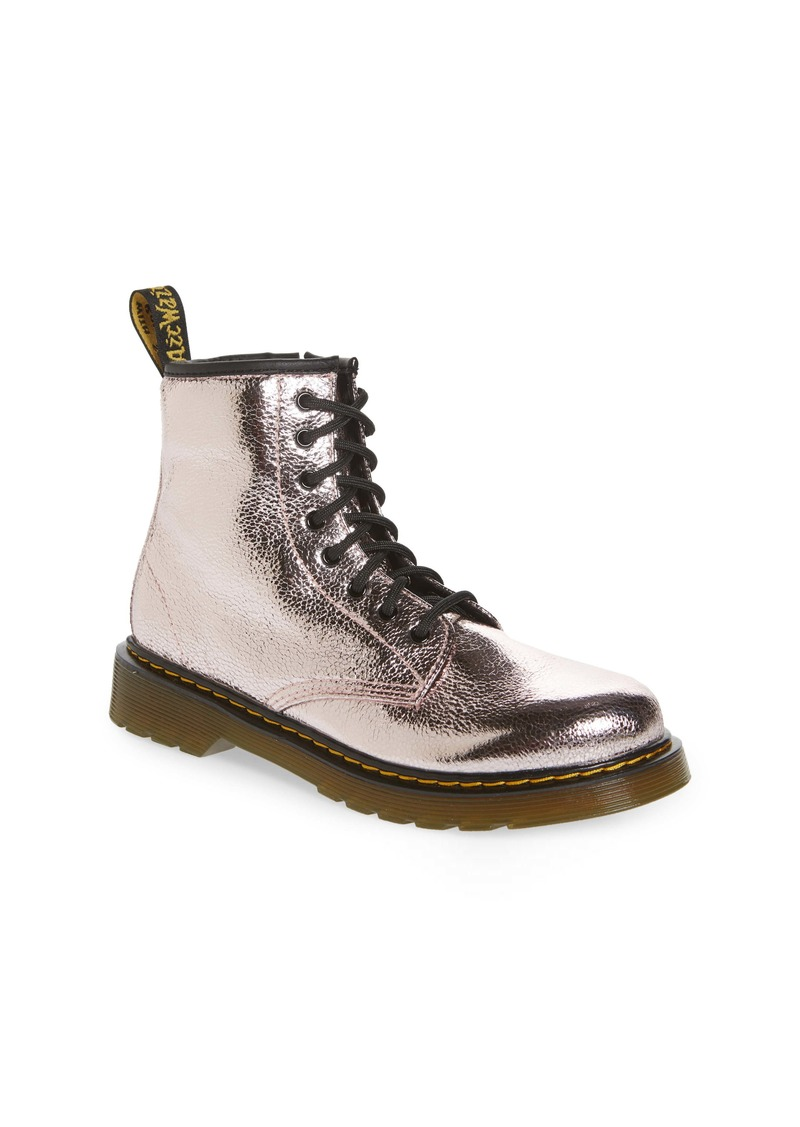 Dr. Martens 1460 Metallic Boot (Toddler & Little Kid)
