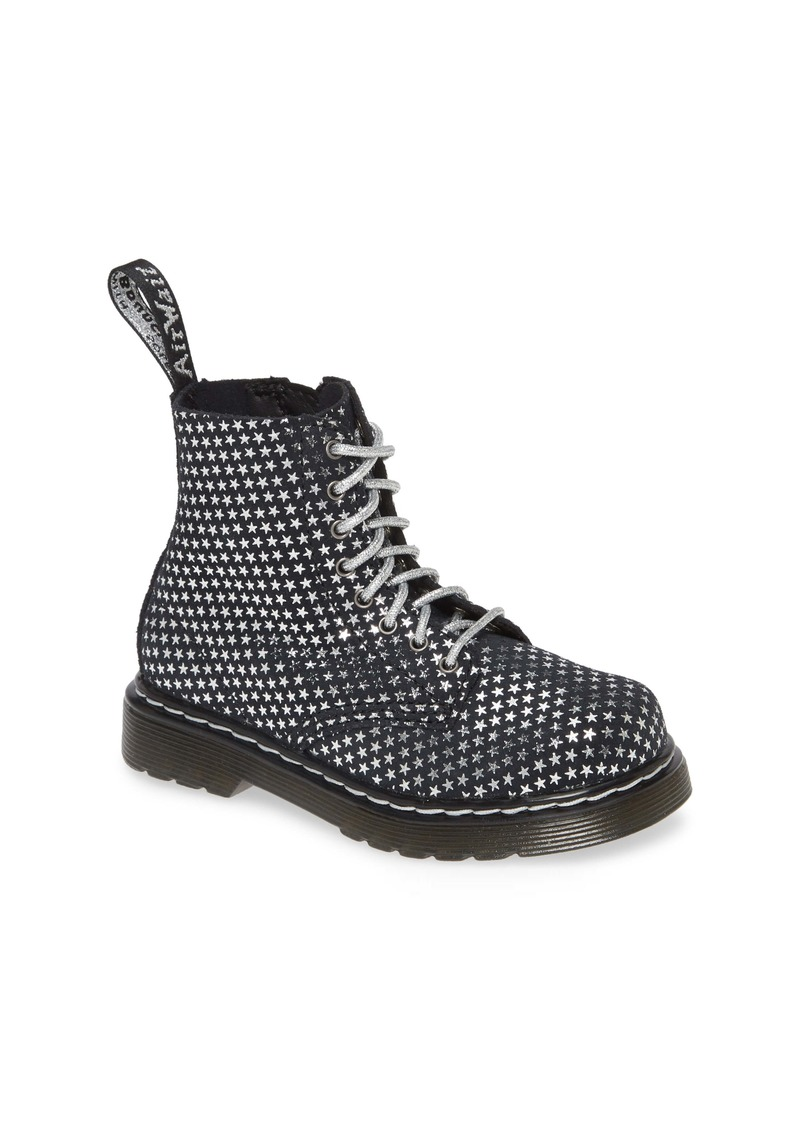 Dr. Martens 1460 Metallic Boot (Walker, Toddler, Little Kid & Big Kid)