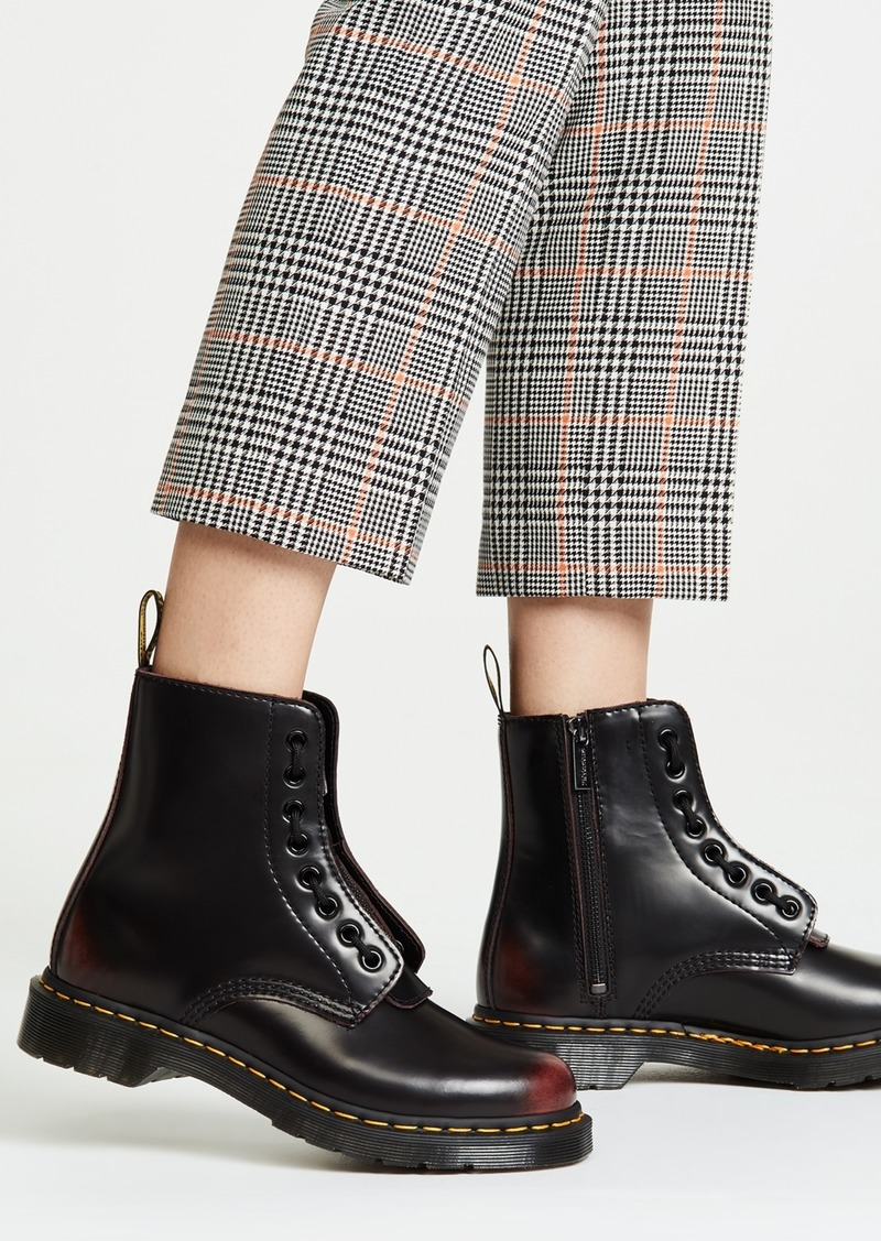 1460 Pascal Front Zip 8 Eye Boots